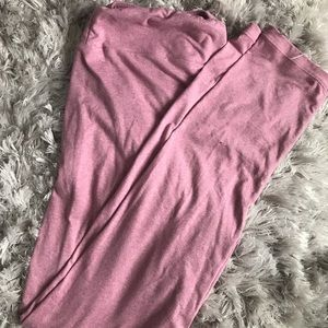 Pink Lularoe leggings